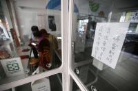 台北市西門商圈店家受停電影響 公告暫停業務