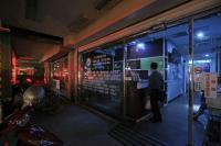 民權西路段商家晚間仍停電(1)