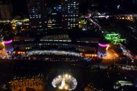 大規模停電 板橋車站夜景