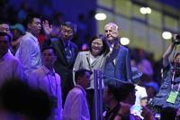 蔡總統柯文哲出席世大運開幕式