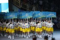世大運開幕  多國舉牌手一次進場