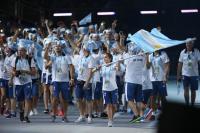 台北世大運開幕 阿根廷代表團進場