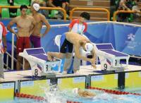 中華隊出賽世大運男子自由式接力預賽