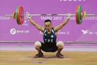 世大運舉重 唐啟中男子56公斤級排第9