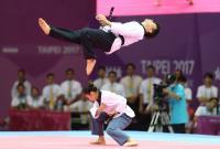 世大運跆拳道品勢 混雙奪金(2)