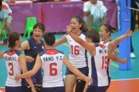 世大運女排預賽首勝法國(2)