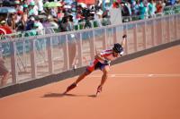 世大運滑輪溜冰  高茂傑奪男子300公尺銀牌