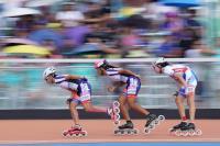 世大運滑輪溜冰 楊合貞李孟竹金包銀(2)