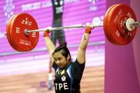 世大運女子舉重63公斤 江念欣奪銅(3)