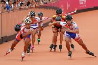 世大運滑輪3千公尺接力 中華男團摘金牌