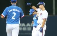 世大運棒球賽抗韓 中華蘇智傑二壘安(2)