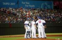 世大運棒球賽抗韓 中華隊賽前集氣