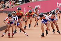 世大運滑輪溜冰男子3千公尺 中華奪金