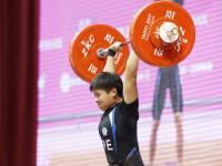 世大運女子舉重69公斤 洪萬庭奪金