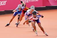 陳映竹破世界紀錄 世大運滑輪溜冰進複賽