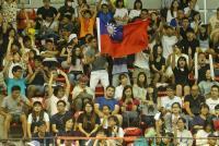 世大運男排 觀眾為中華隊加油(1)