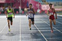 世大運男子100公尺 楊俊瀚衝破全國紀錄