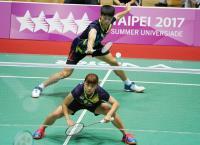 世大運羽球團賽預賽  中華對法國(1)