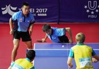 世大運桌球男雙  陳建安江宏傑16強(1)