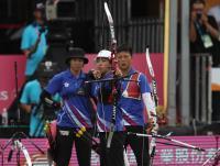 世大運女子團體反曲弓金牌賽