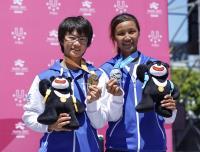 世大運滑輪溜冰馬拉松 中華女將金包銀