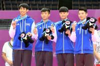 世大運跆拳道男子團體賽 台灣摘銀(2)