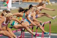 世大運女子百公尺跨欄 選手力拚佳績(1)