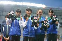 世大運女子半馬 中華團體喜拿銅牌