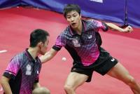 世大運桌球男雙 陳建安江宏傑銅牌