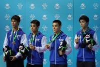 陳建安江宏傑李佳陞廖振珽桌球男雙銅牌