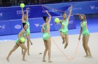 中華世大運韻律體操團體全能奪銀(2)