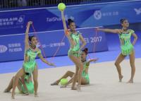 世大運韻律體操團隊3球2繩 中華奪銀