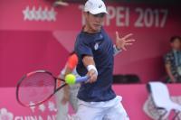 世大運網球男單決賽 莊吉生奪金(1)