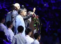 世大運閉幕式 陳副總統向觀眾致意
