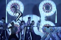 世大運閉幕壓軸 機器人與真人演出(2)