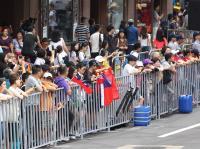 台灣英雄大遊行 民眾聚集(1)