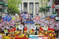 台灣英雄大遊行 民眾熱烈歡迎