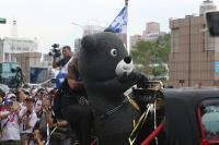 熊讚出席台灣英雄遊行 人氣不輸選手
