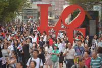 台灣英雄大遊行登場 民眾喝采(1)