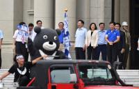 台灣英雄大遊行 吉祥物熊讚也加入