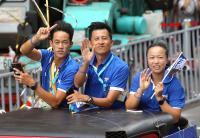 台灣英雄大遊行 莊吉生李亞軒與教練出席