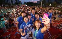 歡迎台灣英雄 世大運選手自拍留念(1)