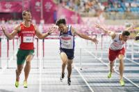 陳奎儒世大運110公尺跨欄破全國紀錄奪銀