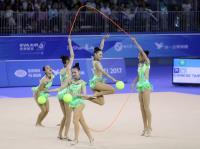 世大運韻律體操 中華團體全能摘銀