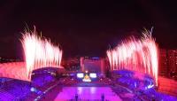 世大運閉幕式 首段煙火秀吸睛