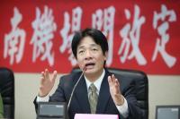 賴清德:莫政治化台南機場直航