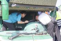 國道客運岡山撞護欄 釀6死11傷