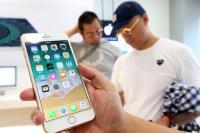 iPhone 8開賣  果粉試用新機