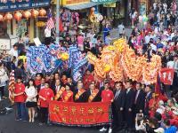 紐約華埠封街大遊行 歡慶雙十國慶