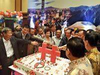 駐印尼代表處舉辦中華民國國慶酒會